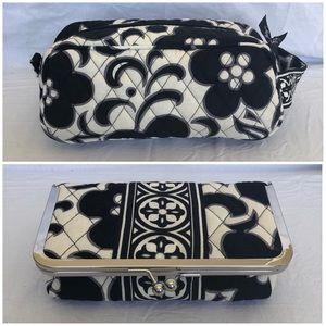 EUC Vera Bradley Cosmetic Bags Set of 2